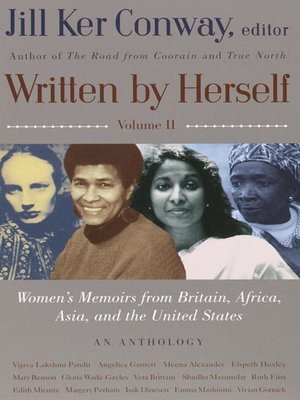 cover image of Women's Memoirs From Britain, Africa, Asia and the United States