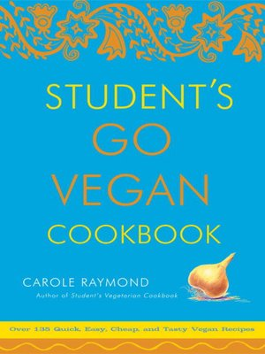 cover image of Student's Go Vegan Cookbook