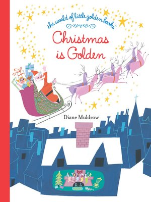 cover image of Christmas is Golden