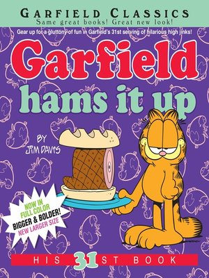 cover image of Garfield Hams It Up
