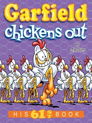 cover image of Garfield Chickens Out