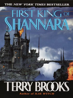cover image of First King of Shannara
