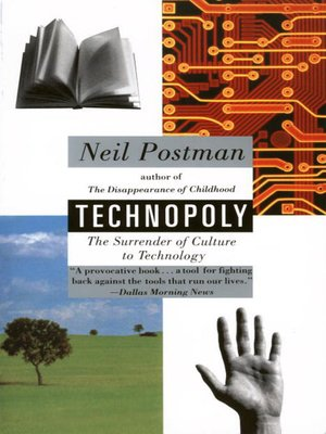 cover image of Technopoly