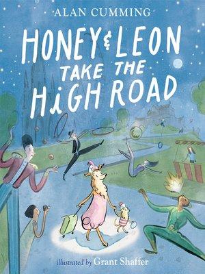 cover image of Honey & Leon Take the High Road
