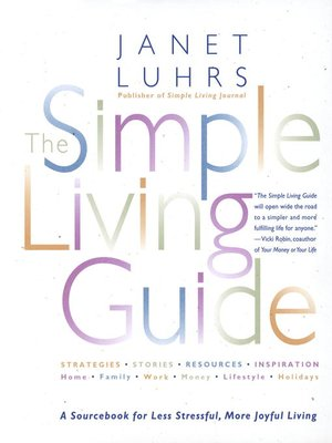 cover image of The Simple Living Guide