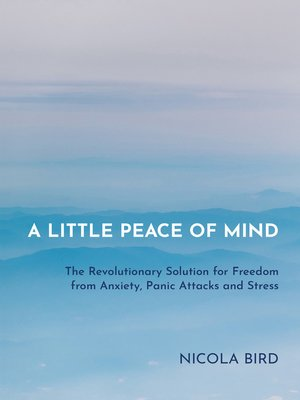 cover image of A Little Peace of Mind