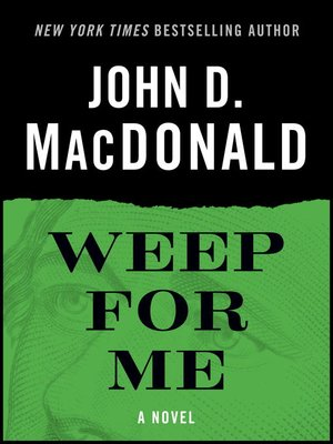 cover image of Weep for Me