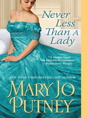 cover image of Never Less Than A Lady