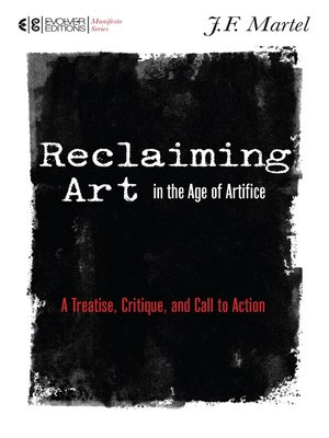 cover image of Reclaiming Art in the Age of Artifice
