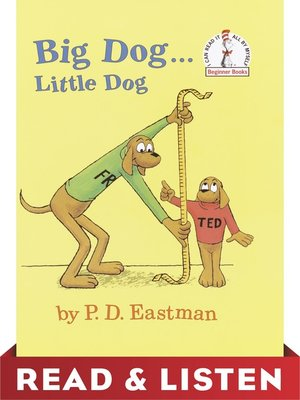 cover image of Big Dog...Little Dog