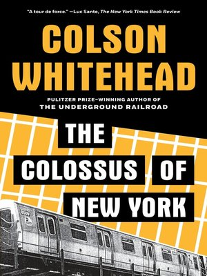 cover image of The Colossus of New York