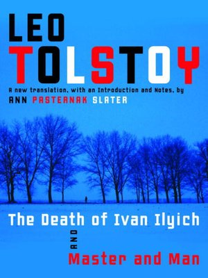 cover image of The Death of Ivan Ilyich and Master and Man
