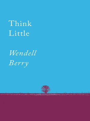 cover image of Think Little