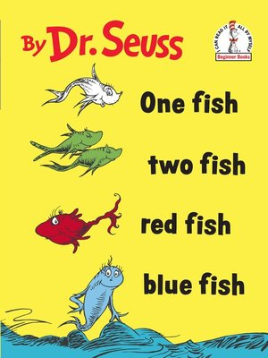 cover image of One Fish Two Fish Red Fish Blue Fish