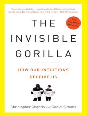 cover image of The Invisible Gorilla