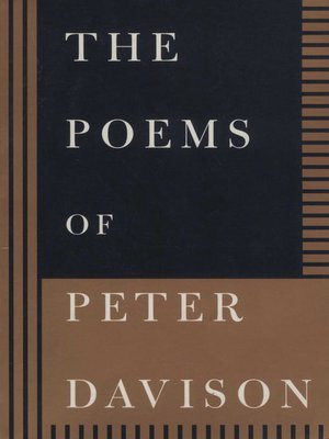 cover image of The Poems of Peter Davison