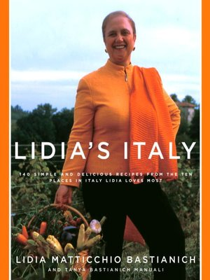 cover image of Lidia's Italy