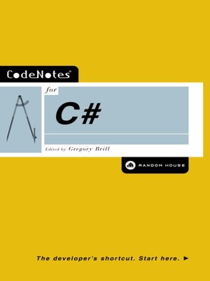 cover image of CodeNotes® for C#