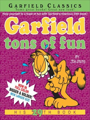 cover image of Garfield Tons of Fun