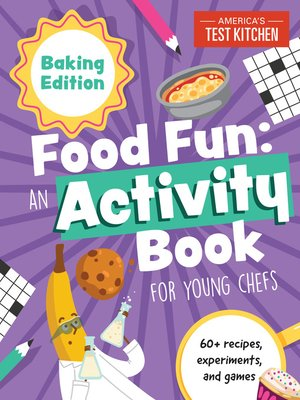 cover image of Food Fun an Activity Book for Young Chefs