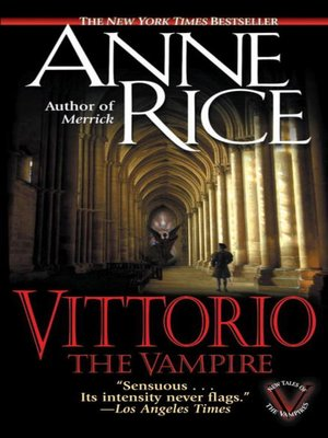 cover image of Vittorio, the Vampire