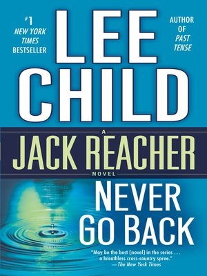 cover image of Never Go Back