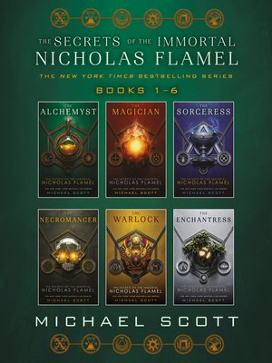 cover image of The Secrets of the Immortal Nicholas Flamel Complete Collection (Books 1-6)