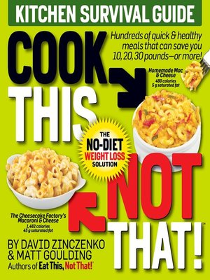 cover image of Cook This, Not That!