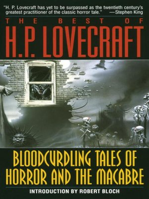cover image of Bloodcurdling Tales of Horror and the Macabre