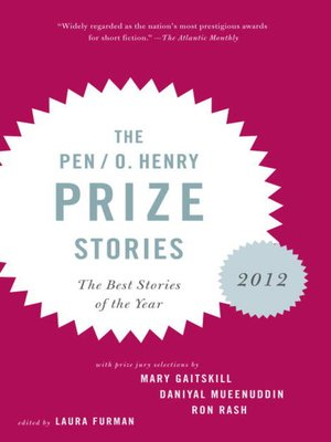 cover image of The PEN O. Henry Prize Stories 2012