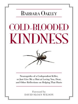 cover image of Cold-Blooded Kindness