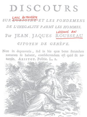 cover image of Lessons on Rousseau