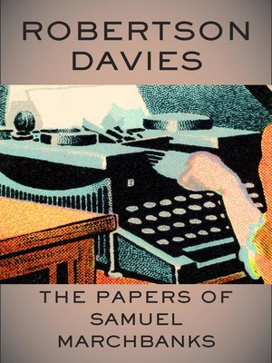 cover image of The Papers of Samuel Marchbanks