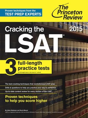 Cracking the LSAT Premium with 3 Real Practice Tests, 27th Edition: The All-in-One Fast Shipping · Deals of the Day · Read Ratings & Reviews · Shop Best SellersCategories: Books, Movies, Electronics, Clothing, Toys and more.
