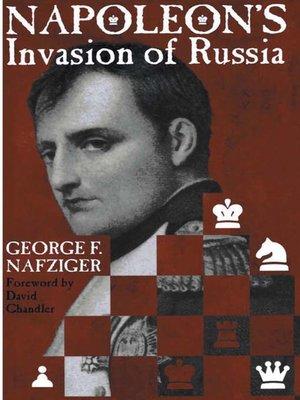 cover image of Napoleon's Invasion of Russia