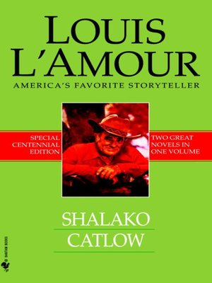 cover image of Shalako and Catlow (2-Book Bundle)