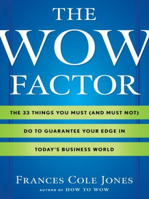 cover image of The Wow Factor