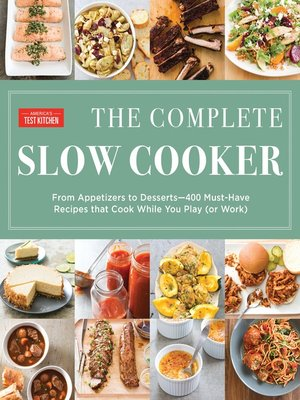 cover image of The Complete Slow Cooker