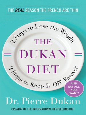 cover image of The Dukan Diet