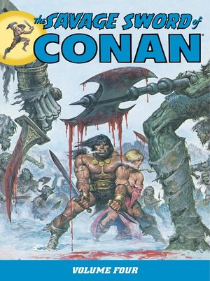 cover image of Savage Sword of Conan, Volume 4