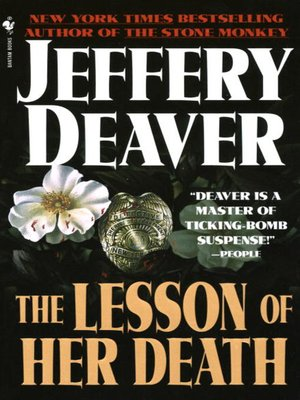 cover image of The Lesson of Her Death