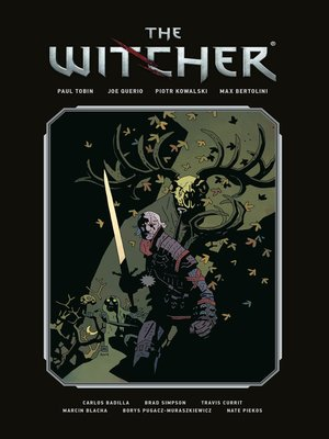 cover image of The Witcher Library Edition Volume 1