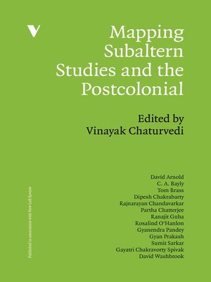 cover image of Mapping Subaltern Studies and the Postcolonial