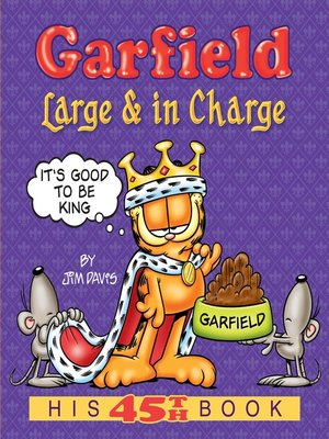 cover image of Garfield Large & in Charge