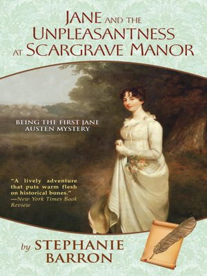 cover image of Jane and the Unpleasantness at Scargrave Manor