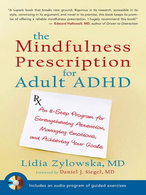cover image of The Mindfulness Prescription for Adult ADHD