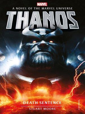 cover image of Marvel Novels--Thanos
