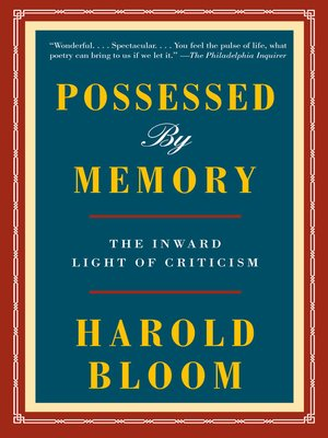 cover image of Possessed by Memory