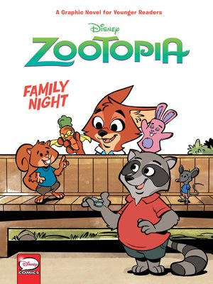 cover image of Disney Zootopia