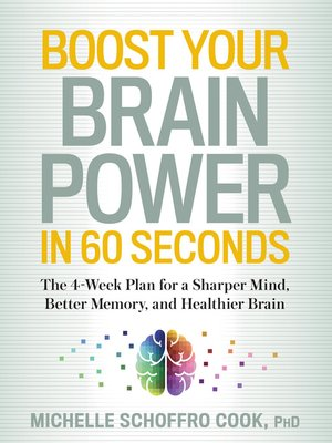 cover image of Boost Your Brain Power in 60 Seconds